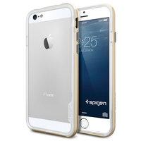 Чехол-бампер для iPhone 6/6s - SGP Neo Hybrid EX - Champagne Gold (SGP11028)