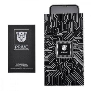 Защитное стекло PRIME AUTOBOT (WN) iPhone Xs Max/11 Pro Max (black)