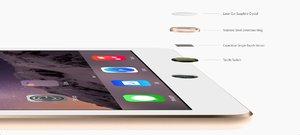 Apple iPad Air 2 Wi-Fi + LTE 16GB Gold (MH2W2, MH1C2)