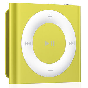 Apple iPod shuffle 4Gen 2GB Yellow (MD774) - фото 1