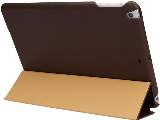 Чехол-книжка для iPad Air/Air 2 - JISONCASE Executive Smart Case - Brown (JS-ID5-01H20)
