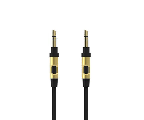 Кабель Monster Mobile Audio Cable 2.4 m - Black and Gold (MNO-133067-00)