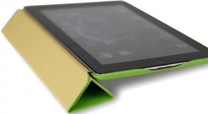 Чехол-книжка для iPad Air/Air 2 - JISONCASE Executive Smart Case - Green (JS-ID5-01H70)