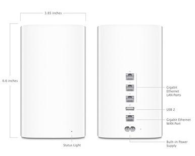 Беспроводной маршрутизатор Apple AirPort Extreme (ME918) CPO