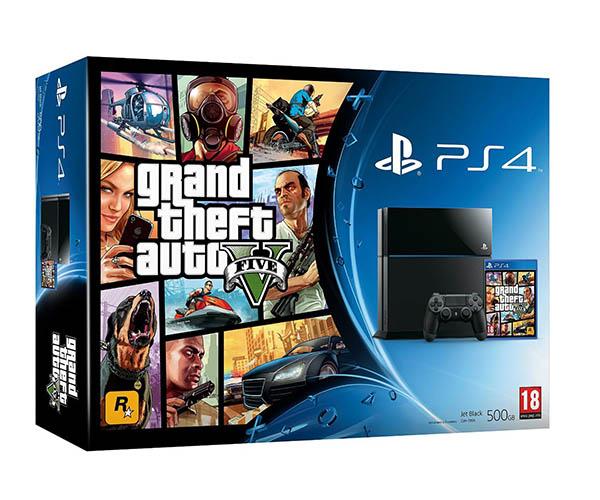 Игровая приставка Sony PlayStation 4 (PS4) + GTA 5