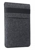 """Чехол-конверт для Macbook 15/16"""" Gmakin темный войлочный (GM71-15/16)"""