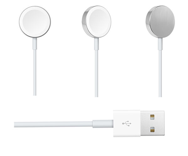 Кабель для зарядки Apple Watch с магнитным креплением (2 м) (MJVX2)