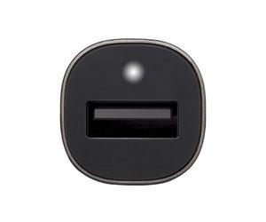Автомобильное зарядное устройство Incase Mini Car Charger with Lightning cable - Charcoal (EC20117) - фото 2
