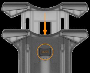 iOttie Easy Smart Tap 2 (Black) - универсальный держатель для iPad (HLCRIO141)