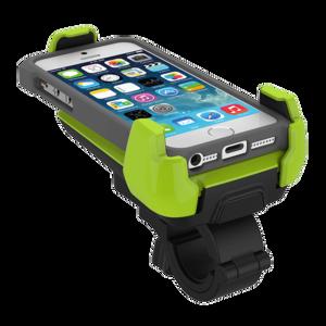 iOttie Active Edge Bike & Bar Mount for iPhone Motorola Droid Turbo- Electric Lime (HLBCIO102GN) - фото 1