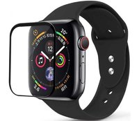 Защитное стекло для Apple Watch 40 mm - Full Glue Tempered Glass - Black GLASS_40