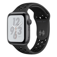 Apple Watch Series 4 Nike+ (GPS) 44mm Space Gray Aluminum w. Anthracite/Black Nike Sport B.(MU6L2)