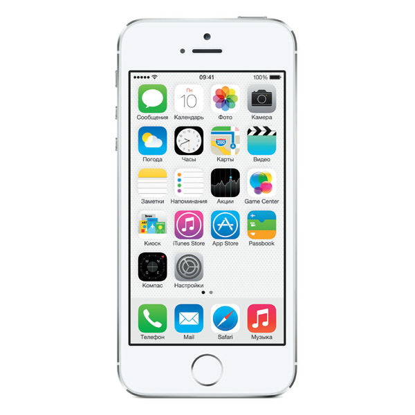 iPhone 5S 16GB (Silver) (ME433)
