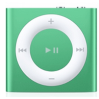 Apple iPod shuffle 4Gen 2GB Green (MD776)