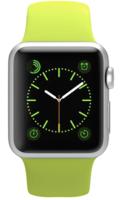 Apple Watch Sport 38mm Silver Aluminum Sport Band Green (130–200mm)(MJ2U2)