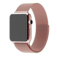 Ремешок Apple Watch 38/40mm Milanese Loop Band 316L Pink Sand OEM