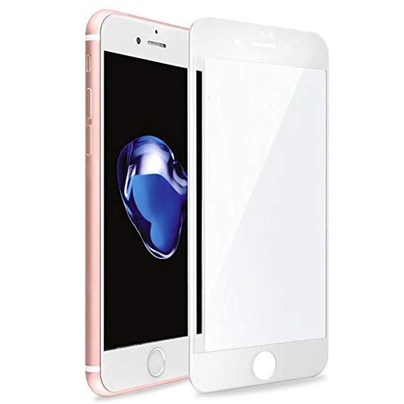 Защитное стекло 3D Tempered Glass for iPhone 8 Plus/7 Plus White