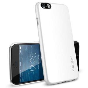 Чехол-накладка для iPhone 6/6s - SGP Thin Fit - Smooth White (SGP10937) - фото 3