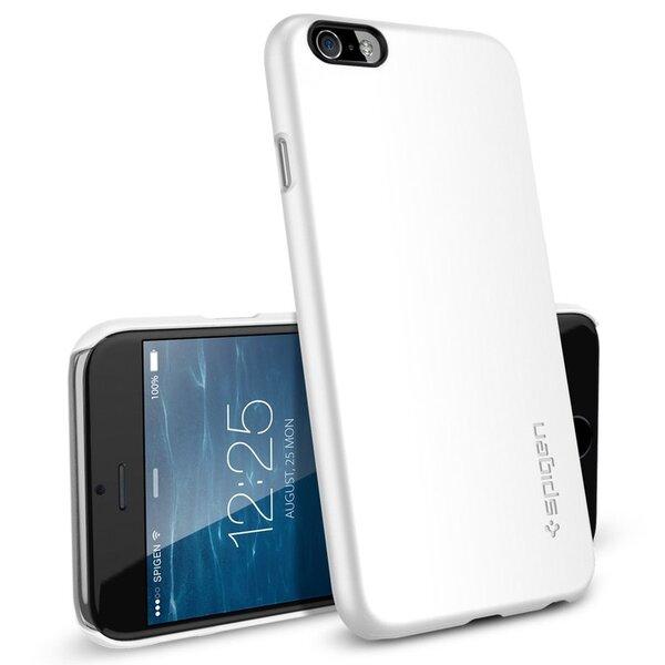 Чехол-накладка для iPhone 6/6s - SGP Thin Fit - Smooth White (SGP10937)