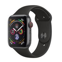 Apple Watch Series 4 (GPS+Cellular) 40mm Space Gray Aluminum w. Black Sport Band (MTUG2, MTVD2)