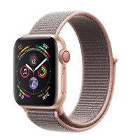 Apple Watch Series 4 (GPS+Cellular) 40mm Gold Aluminum w. Pink Sand Sport Loop