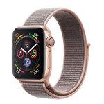 Apple Watch Series 4 (GPS) 40mm Gold Aluminum w. Pink Sand Sport Loop (MU692)