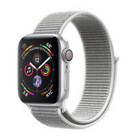 Apple Watch Series 4 (GPS) 40mm Silver Aluminum w. Seashell Sport Loop (MU652)