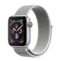 Apple Watch Series 4 (GPS) 40mm Silver Aluminum w. Seashell Sport Loop (MU652)