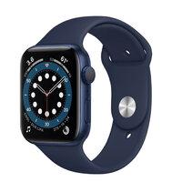 Apple Watch Series 6 GPS 40mm Blue Aluminium Case with Deep Navy Sport Band (MG143)