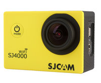 Экшен камера SJCAM SJ4000 Yellow Edition (Wi-Fi)