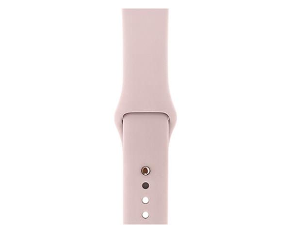 Apple Watch Series 3 (GPS) 42mm Gold Aluminum w. Pink Sand Sport B.- Gold (MQL22)