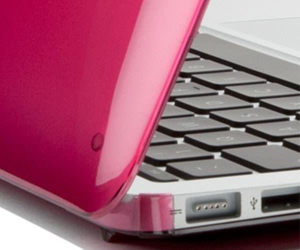 """Чехол-накладка для MacBook Air 13"""" Speck SeeThru - Raspberry (SP-SPK-A2203)"""