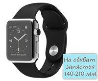 Apple Watch 42mm Stainless Steel Sport Band Black (MJ3U2)