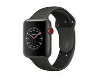Apple Watch Edition (GPS + Cellular) 42mm Gray Ceramic w. Gray/Black Sport B. (MQKE2)