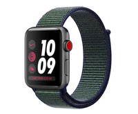 Apple Watch Nike+ Series 3 (GPS + Cellular) 42mm Space Gray Aluminum w. Midnight Fog Nike Sport L. (MQLH2)