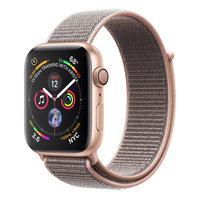 Apple Watch Series 4 (GPS) 44mm Gold Aluminum w. Pink Sand Sport Loop (MU6G2)