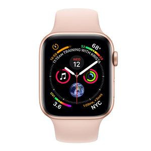Apple Watch Series 4 (GPS) 44mm Gold Aluminum w. Pink Sand Sport Band (MU6F2)