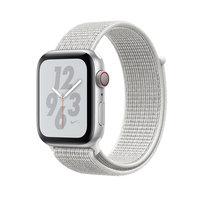 Apple Watch Series 4 Nike+ (GPS + Cellular) 44mm Silver Aluminum w. Summit White Nike Sport L. (MTXA2)