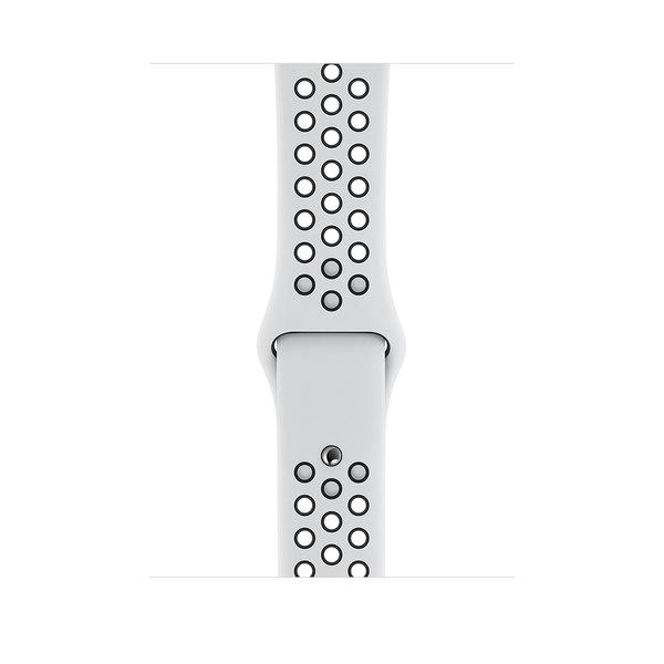 Apple Watch Series 4 Nike+ (GPS) 40mm Silver Aluminum w. Pure Platinum/Black Nike Sport B.(MU6H2)