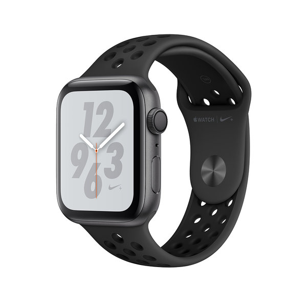 Apple Watch Series 4 Nike+ (GPS) 40mm Space Gray Aluminum w. Anthracite/Black Sport B. (MU6J2)