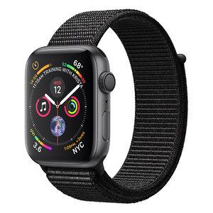 Apple Watch Series 4 (GPS) 44mm Space Gray Aluminum w. Black Sport Loop (MU6E2)