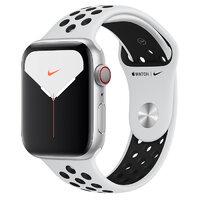 Apple Watch Nike Series 5 LTE 44mm Silver Aluminium w. Platinum/Black Nike Sport B. (MX392)