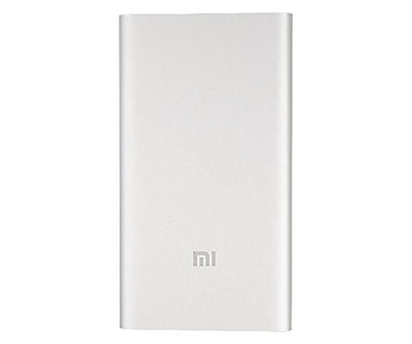Внешний аккумулятор Xiaomi Mi Power Bank 5000 mAh - Silver (NDY-02-AM)