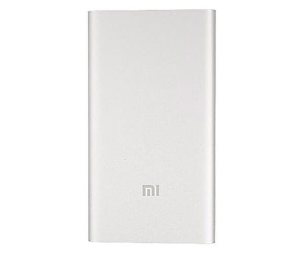 Внешний аккумулятор Xiaomi Mi Power Bank 5000 mAh - Silver (NDY-02-AM)