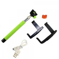 Cкладной штатив-монопод Monopod Z07-5 Wireless (Green)
