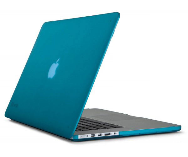 "Чехол-накладка для MacBook Pro Retina 13"" Speck SeeThru - Satin Peacock Blue (SP-SPK-A1893)"