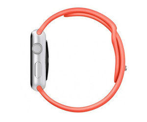 Apple Watch Sport 38mm Silver Aluminum Sport Band Pink (130-200mm)(MJ2W2)