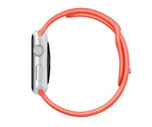 Apple Watch Sport 38mm Silver Aluminum Sport Band Pink (130-200mm)(MJ2W2)
