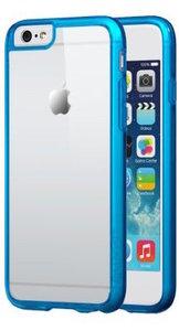Чехол-накладка для iPhone 6 - Silicon Case - Clear-Darkblue