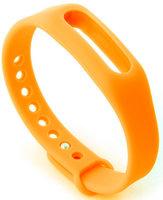 Ремешок для фитнес-браслета Xiaomi MiBand (Orange)